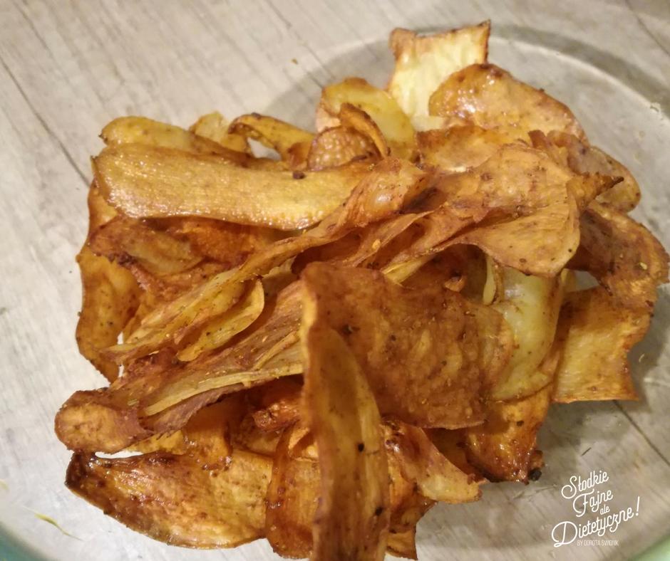 Jak zrobic chrupiace chipsy z ziemniakow