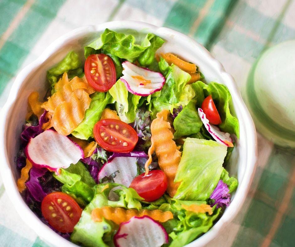 kalorie z warzyw