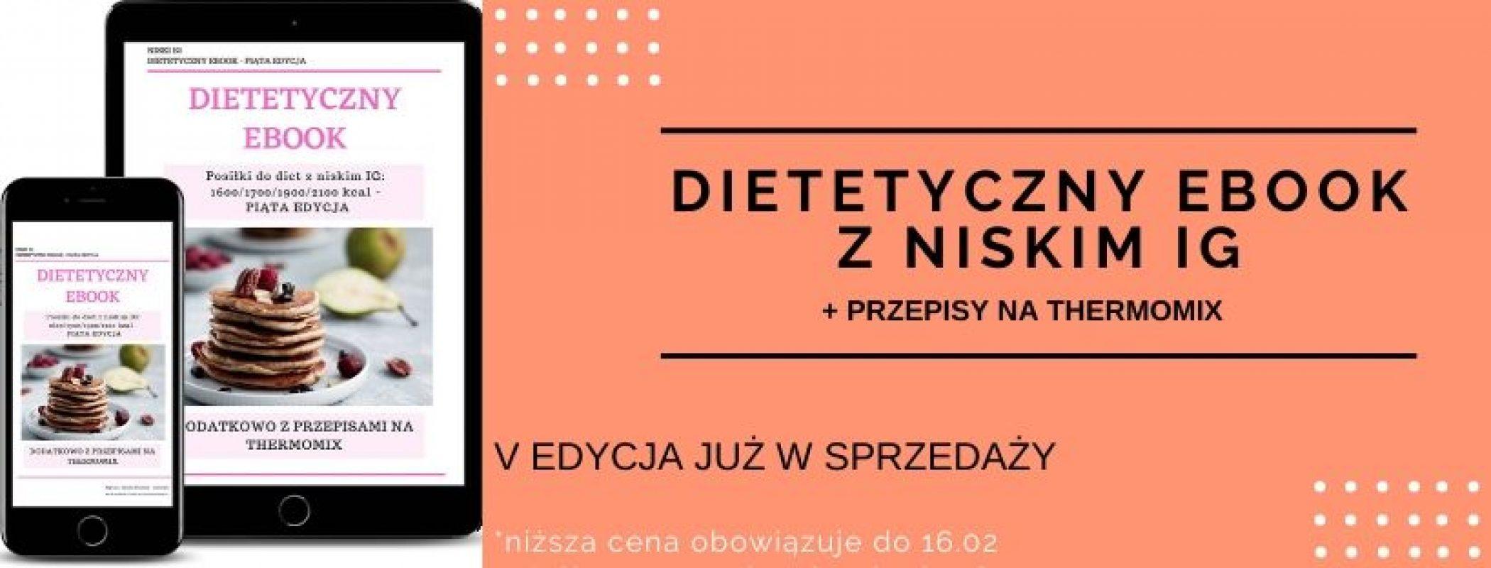 DIETETYCZNY EBOOK NISKI IG V EDYCJA